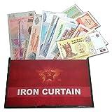 IMPACTO COLECCIONABLES Banconote del Mondo - Collezione di Banconote - 17 Banconote della Cortina di Ferro. L'Unione Sovietica e i Suoi Stati satelliti