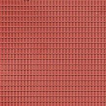 Auhagen 52.225,0 - Paneles Decorativos Teja, 10 x 20 cm Superficie de la