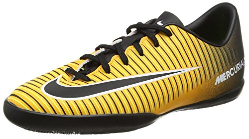 Nike Unisex-Kinder Jr. Mercurialx Victory VI IC Fußballschuhe, Orange (Laser Orange/Black-White-Volt), 36 EU (Fußball Schuhe Nike Mercurial Kinder)