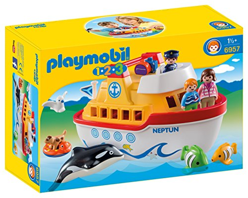 Playmobil 6957 1.2.3 My Take Along Ship