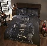 Buddha Buddha Einzelbett Bettbezug Bettwäsche & 1Kissenbezüge Set, Ethnic & spirituelle, Braun