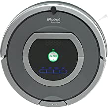 iRobot Roomba 782 - Robot aspirador, alto rendimiento de limpieza, programable, limpia varias habitaciones, atrapa el pelo de mascotas, gris