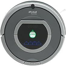 iRobot Roomba 782e - Robot aspirador, potente sistema de limpieza, sensores de suciedad Dirt Detect, plata