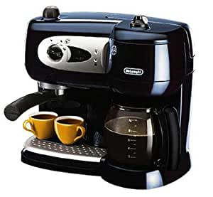 de 39 longhi pump combi coffee maker kitchen. Black Bedroom Furniture Sets. Home Design Ideas