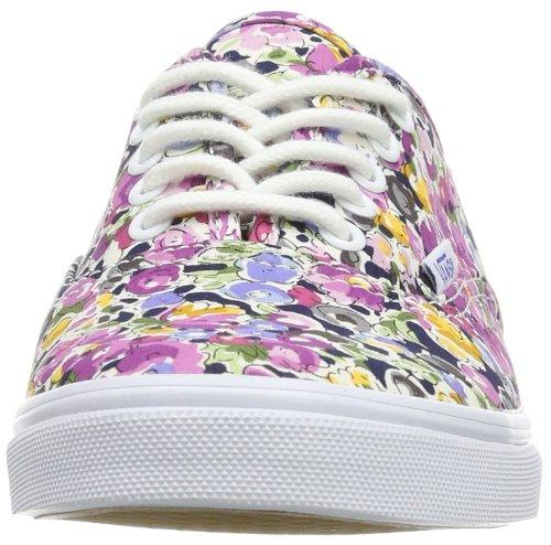 Vt9nax0 Sneaker Vans Pro floral floral Lo E adult violeta Branco Unisex Violeta Autêntica zSxw4OqYS