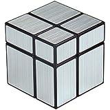 Cubo 2x2x2 Mirror ShengShou, tipo Rubik, cube 2x2, plateado