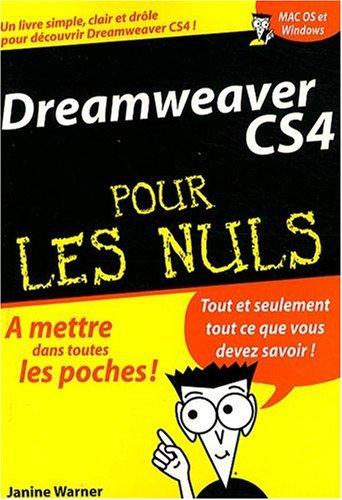 DREAMWEAVER CS4 POCHE PR NULS