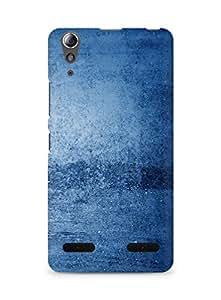 Amez designer printed 3d premium high quality back case cover for Lenovo A6000 (Blue pattern)