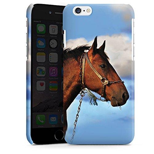 Apple iPhone 4 Housse Étui Silicone Coque Protection Cheval Étalon Jument Cas Premium brillant