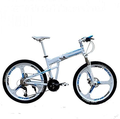 MASLEID Aluminium 26 pouces VTT pliant motos sport 27 vitesse