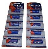 10 x 23A 12V ( 2 Blistercards a 5 Batterien ) Quecksilberfreie Alkaline Batterien MN21, 23A, V23GA, L1028, A23 Markenwar