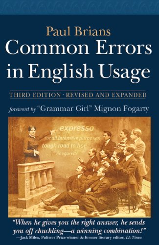 Common Errors in English Usage por Paul Brians
