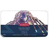 Derwent Coloursoft Crayons de Couleur (Boite en Métal de 72)