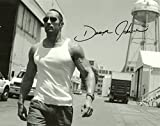 Athah Designs Dwayne Johnson Wall Poster Matte Finish