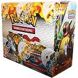 Pokémon XY02 Flammenmeer Booster Display deutsch, 36er Display (36 x Booster Pack)