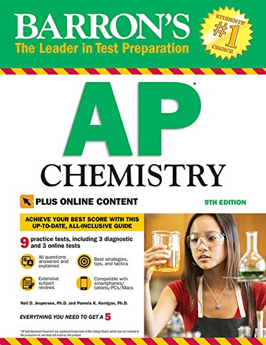 Barron's AP Chemistry with Online Tests (Chemie Test Ap)