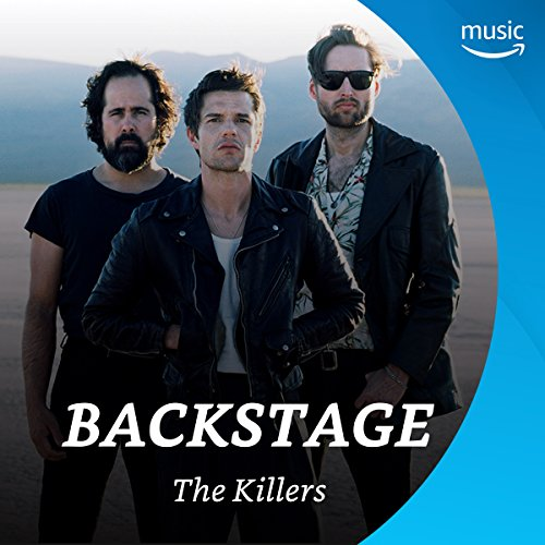 Backstage mit The Killers