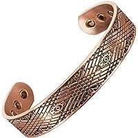 Herren-Armband, keltisches Design, magnetisch, Kupfer, für Arthritis, Schmerzlinderung, Karpaltunnelsyndrom, Sehnenscheidenentzündung... preisvergleich bei billige-tabletten.eu