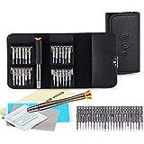ilauke 27 Kit de Tournevis de Précision Outils de Réparation pour Portable, Laptop, Montre, Jouets, Lunettes, Bijoux etc.