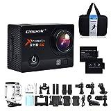 Campark® ACT74 Caméra d'action et sport, 4k Ultra HD, Capteur...
