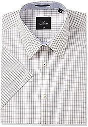Park Avenue Mens Formal Shirt (8907575436260_PMSB09371-F4_40_Medium Fawn)