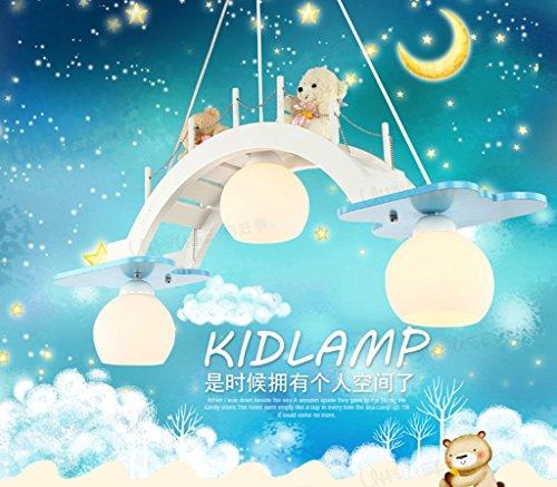 Es gibt gute Kinderraum Kronleuchter dekorative LED-Augenlampe Schlafzimmerlampe kreative Jungen und M?dchen Raum Tsuruhashi
