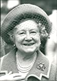 Vintage photo of The Queen Mother Elizabeth Bowes-Lyon