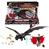 Dragons - Action Spiel Set - Armored Drachen Ohnezahn Toothless mit Sound