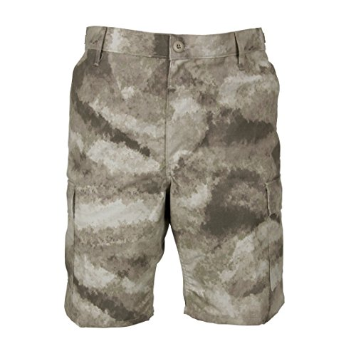 PROPPER F5261 BDU Battle Rip Zip Fly Short A-TACS AU Medium (Shorts Au)