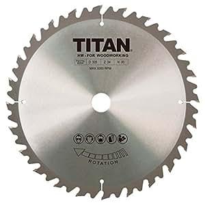 Titan TCT Lame de scie circulaire 24dents 305x 20/25/30mm