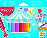 Maped Color' Peps Jumbo - Pack de 10 crayones