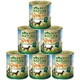 Dehner Best Nature Hundefutter, Adult Ziege und Huhn, 6 x 800 g (4.8 kg)