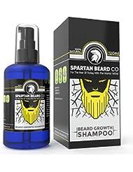 Un soin lavant premium et luxueux pour la barbe, le shampooing pour barbe de Spartan Beard Co. Volume XL de 120 ml. Fabriqué à partir d'ingrédients naturels à 99% pour le meilleur soin possible pour la barbe. Ce shampooing favorise une croissance saine de la barbe.