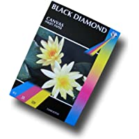 Black Diamond A3 Canvas Inkjet Paper 220gsm Qty 50