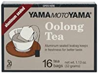 Yamamotoyama Oolong Tea, 1.13-Ounce Boxes (Pack of 12)