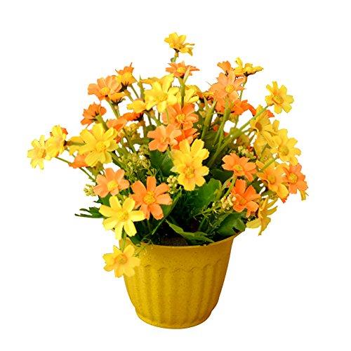 Vi.yo künstliche, Seide, Blume, für Pflanzen, Blumen für Zuhause, Hochzeit, Garten, Dekoration,...