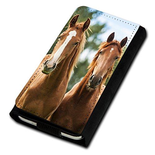 Book Style Flip Handy Tasche Case Schutz Hülle Foto Schale Motiv Etui für Medion Life E5020 - Flip U5 Design9