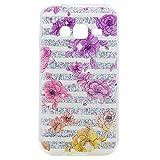 ZeWoo TPU Schutzhülle - TT009 / Blumenfarbe - für Samsung Galaxy J1 Mini Prime Duos(4 inches) Silikon Hülle Case Cover