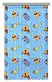 AG Design Disney Winnie Puuh Kinderzimmer Gardine/Vorhang, 1 Teil Stoff Mehrfarbig 140 x 245 cm