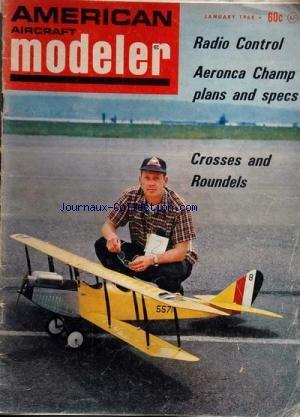 AMERICAN AIRCRAFT MODELER du 01/01/1968 - RADIO CO...