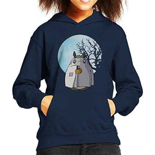 My Neighbour Totoro Halloween Trick Or Treat Ghost Kid's Hooded Sweatshirt