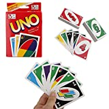 Commen Problem and The Solution for Customers: If the box was torn or cards were damaged, please feel free to contact us, we will immediately help to solve the problem. Description: This is the Standard Fun 108 UNO Playing Cards Game For Family Frien...