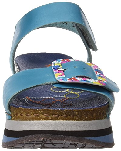 ART 0459 Mojave Mykonos, Sandales à Plateforme Femme Bleu (Multi Albufera)