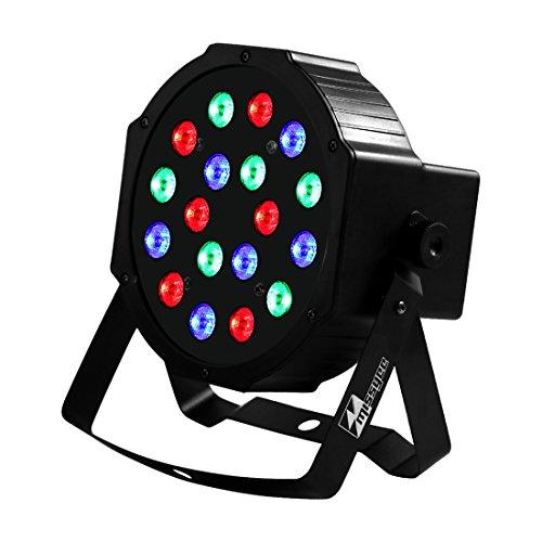 Missyee®Bühne Licht Disco Licht Eine Rot Grün Blaue Farbe Mischen Led Licht 18 Led Par Licht 512 DMX DJ Beleuchtung LED Lichteffekte Bühnenlicht Tanzfläche Beleuchtung (1 pack) Led-par Dj