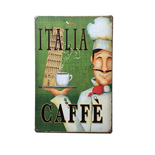 Imported COFFEE Metal Tin Sign Art Poster Home Cafe Bar Pub Vintage Plaque Decor 12  available at amazon for Rs.325