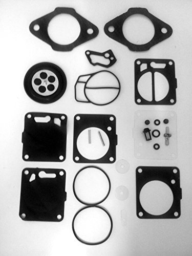 Yamaha Mikuni Carb Rebuild Kit with Base Gasket 6m6-13556-00-00 Sj Wr Vxr Lx Bg by JSP Manufacturing