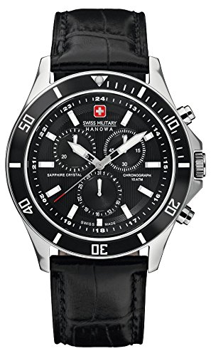 Swiss-Military-Mens-Quartz-Watch-with-Black-Dial-Chronograph-Display-and-Black-Leather-Strap-6-418304007