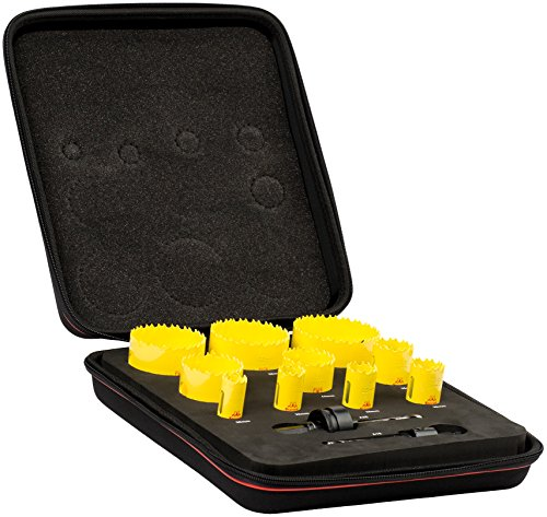 Starrett KDC10021 HSAW-ELEC-Kit per sega a tazza per elettricisti (12