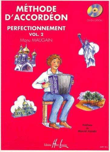 Methode d'accordeon Vol.2 par Manu Maugain