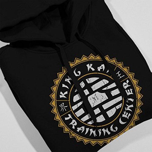 King Kai Training Center Dragon Ball Z Women's Hooded Sweatshirt Black